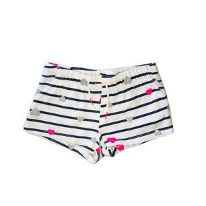 H&M Summer Hearts Shorts Girl Size 4-5Y